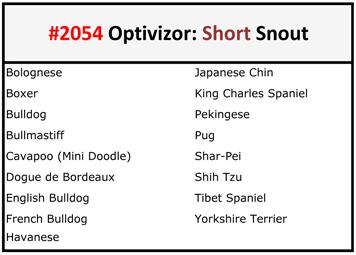 Breed recommendations for Short Optivizor