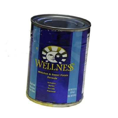 Wellness Whitefish & Sweet Potato Canned Dog Food Case