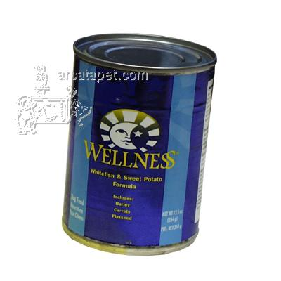 Wellness Fish Sweet Potato Dog Food Cans Each
