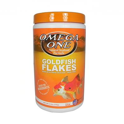 Omega One Goldfish Flakes Fish Food 5.3 ounce