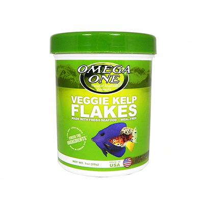 Omega One Super Kelp Flakes Fish Food 1 ounce