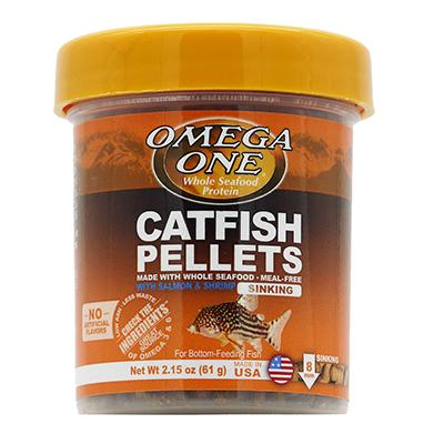 Omega One Sinking Shrimp Pellets Fish Food 2.15-oz