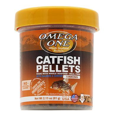 Omega One Sinking Shrimp Pellets Fish Food 2.15-oz Click for larger image
