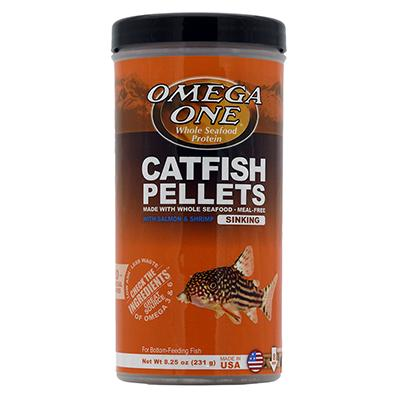 Omega One Sinking Shrimp Pellets Fish Food 8.25-oz Click for larger image