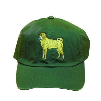 Cap 100% Cotton with Embroidered Sharpei