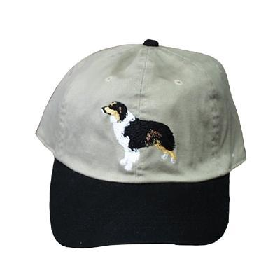 Cap 100% Cotton with Embroidered Australian Shepherd