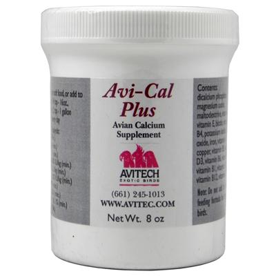Avitech AviCal Plus Calcium Supplement 8 ounce