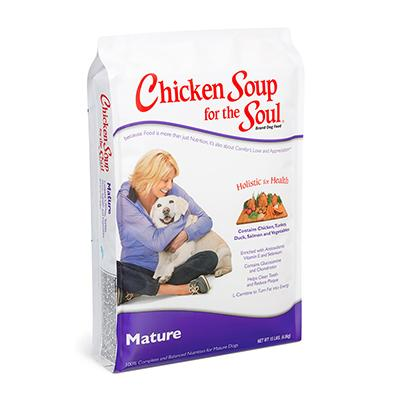 Chicken Soup for the Dog Lover's Soul Mature Dog Food 15lb