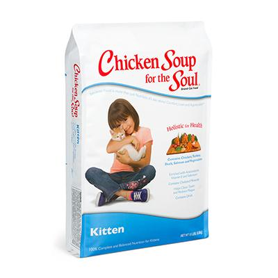 Chicken Soup for the Kitten Lovers Soul 15 lb