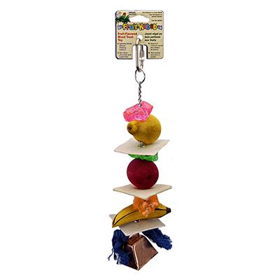 Penn Plax Fruit Kabob Extra Large Bird Toy Click for larger image
