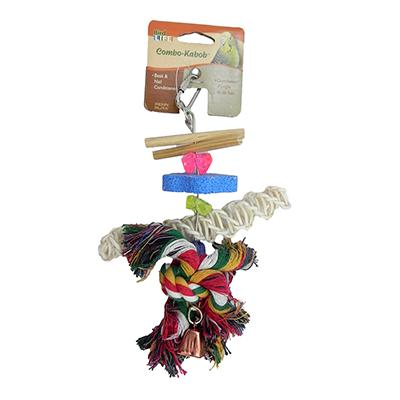 Penn Plax Combo Kabob Small Bird Toy