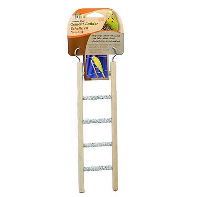 Penn Plax 5-Step Cement Ladder Small Bird