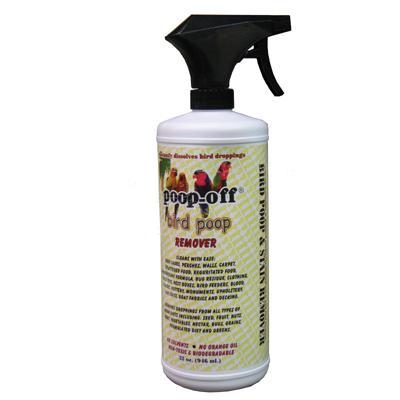 Poop-Off Bird Poop Spray 32 oz Click for larger image