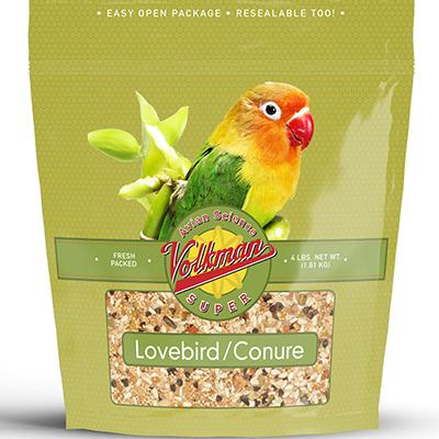 Volkman Avian Science Super Lovebird/Conure Seed Mix 4lb Click for larger image