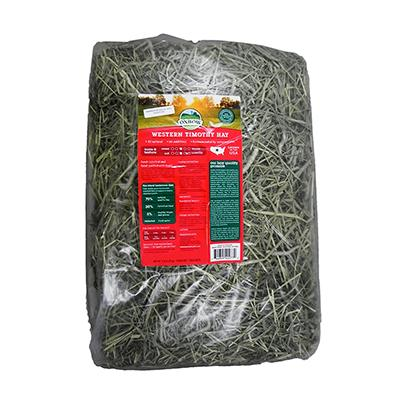 Oxbow Western Timothy Hay 9lb Bale for Small Animals Click for larger image