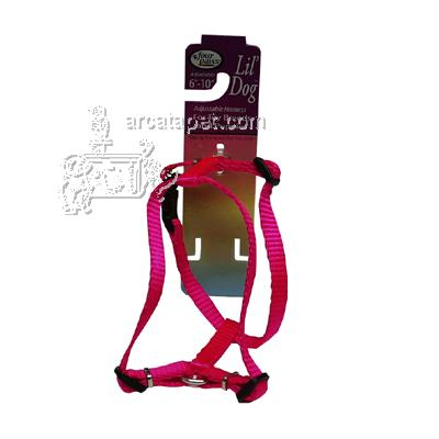 Pink Adjustable Harness Lil' Dog for Toy Breeds