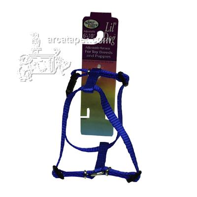 Lil' Dog Blue Adjustable Harness for Toy Breeds