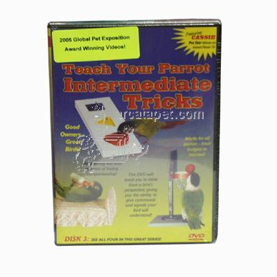 DVD#3 Teach Your Parrot Intermemediate Tricks
