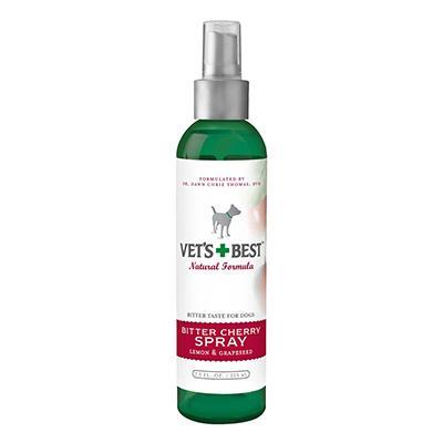 Vets Best Bitter Cherry Spray  7.5 oz Pet Taste Deterrent