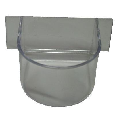 Parrot Cup Plastic Clear
