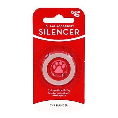 Circle ID Tag Silencer Large Click for larger image