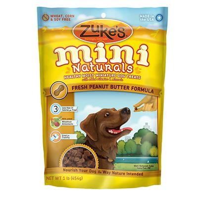 Zuke's Mini-Naturals Peanut Butter 1 Pound Dog Treat Click for larger image