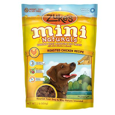 Zuke's Mini-Naturals Chicken 1 lb Dog Treat Click for larger image