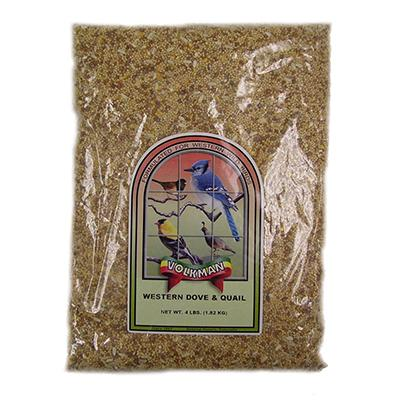 Volkman Western Dove and Quail Wildbird Mix 4lb Click for larger image