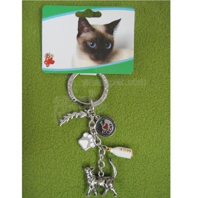 Key Charms Cat Standing
