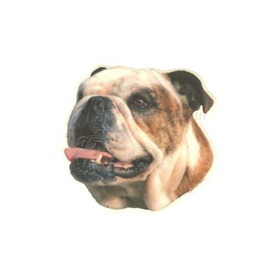 Double Sided Dog Decal Bulldog