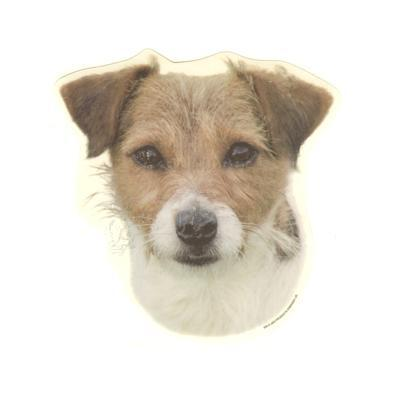 Double Sided Dog Decal Jack Russell Terrier