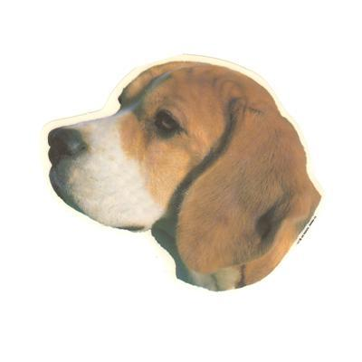 Double Sided Dog Decal Beagle