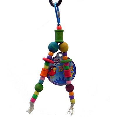 Bird Brainers Beads Spools and Discs Small Bird Toy