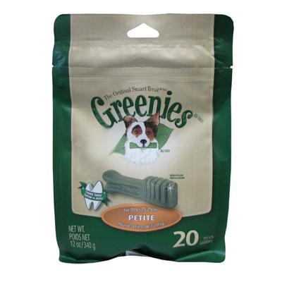 Greenies Petite Size Dog Dental Treat 20 Pack Click for larger image