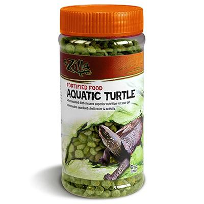 Zilla Aquatic Turtle Fortified Food