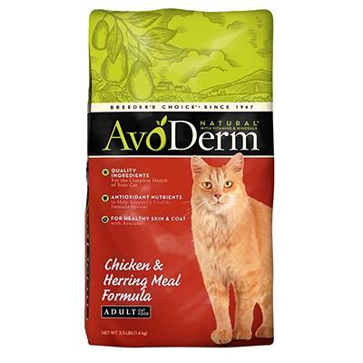 AvoDerm Natural Chicken & Herring Cat Food 3.5 lb