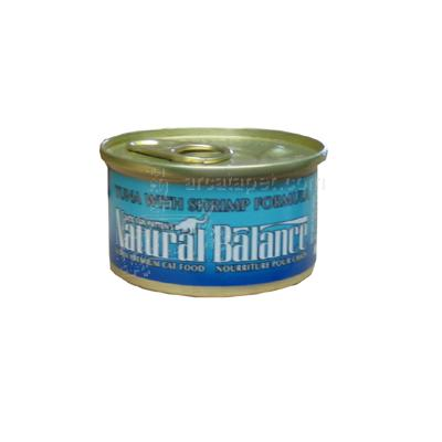 Natural Balance Tuna & Shrimp Canned Cat Food Singles