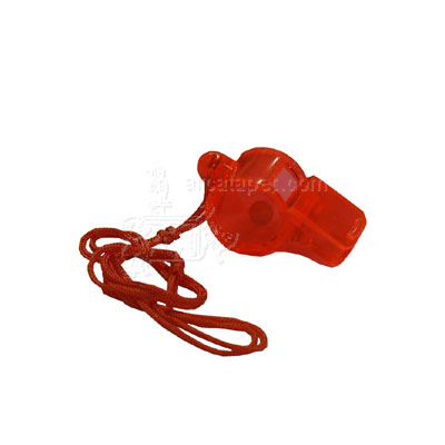 Plastic Dog Whistle with Lanyard