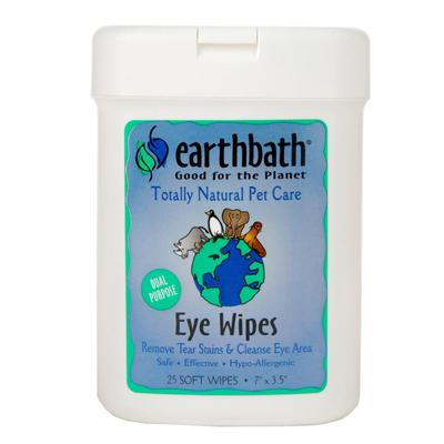 Earthbath Totally Natural Soft Pet Eye Wipes Click for larger image