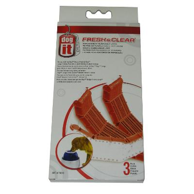 Dog-It Fresh & Clear Replacement Filters 3 pk