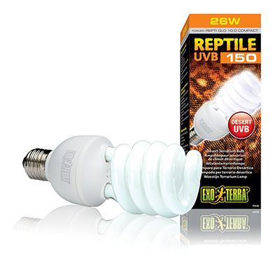 Exo Terra Reptile UVB 150 Terrarium Lamp 26 watt