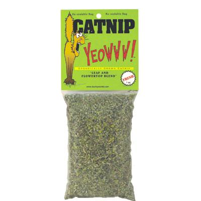 Yeowww! Potent Fresh Catnip 1oz Click for larger image