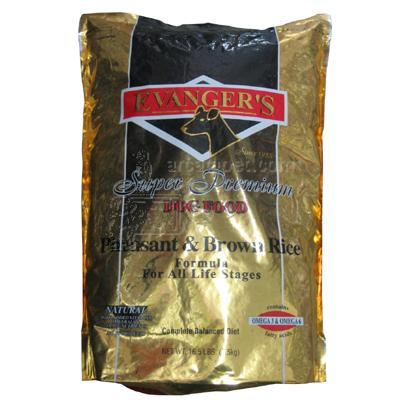 Evangers Pheasant and Rice Dog Food 16.5 lb