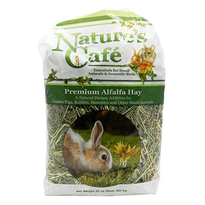 Nature's Cafe Alfalfa Bale 2 pound for Small Pets Click for larger image