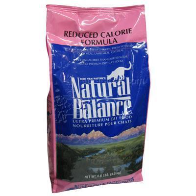 Natural Balance Reduced Calorie Dry Cat Food 6lb