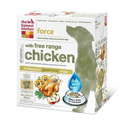 Honest Kitchen Force Dehydrated RAW Dog Food 4 lb  Click for larger image