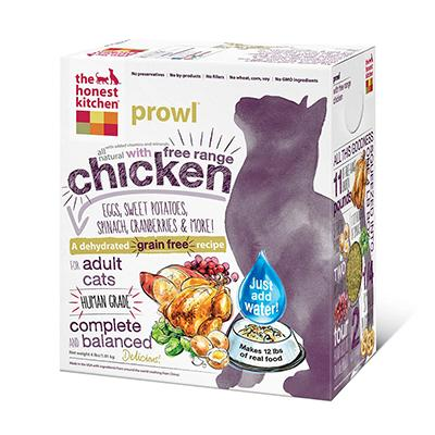The Honest Kitchen Prowl 4 lb Dehydrated RAW Cat Food