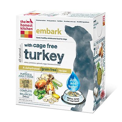 Honest Kitchen Embark Dehydrated RAW Dog Food 4 lb