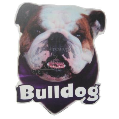 6-inch Vinyl Dog Decal Bulldog Picture