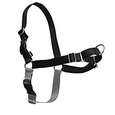 Easy Walk Dog Harness Petite/Small Tweener Black Click for larger image